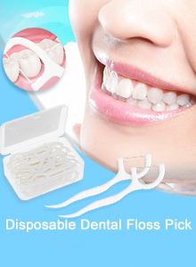 Disposable Dental Floss Pick