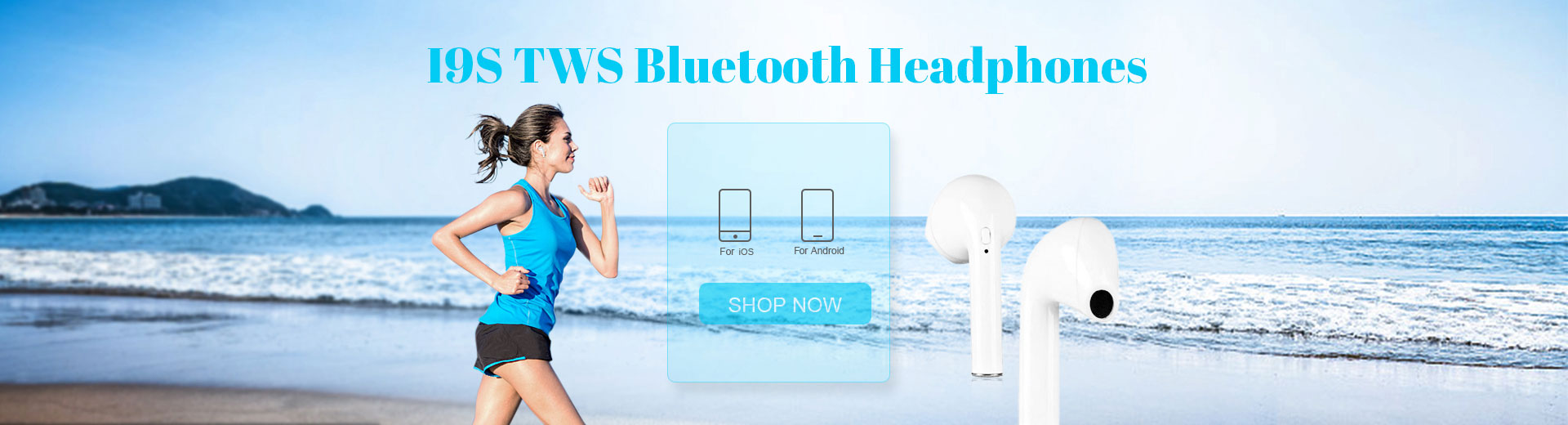 i9S TWS Bluetooth Headphones