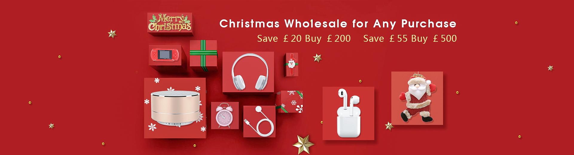 Christmas wholesale