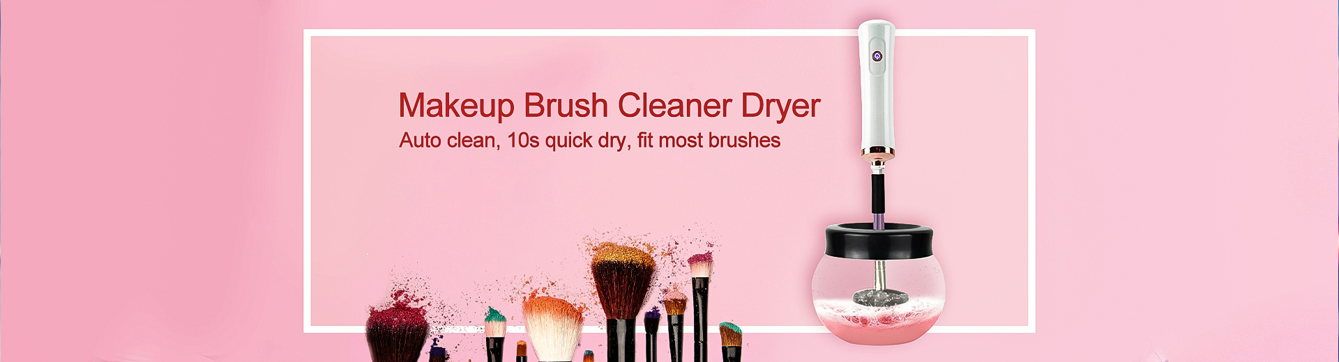 Makeup Brush Cleaner Dryer