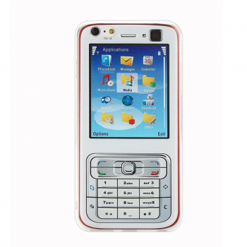 Soft TPU Back Case Phone Cover Skin for iPhone 6 6S Plus - Nokia N73 Model