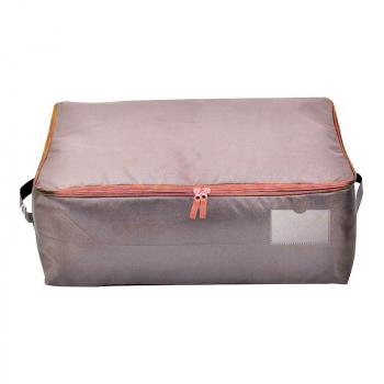 Large Storage Bag Oxford Clothes Quilt Bedding Duvet Laundry Pollows Zipped Organizer