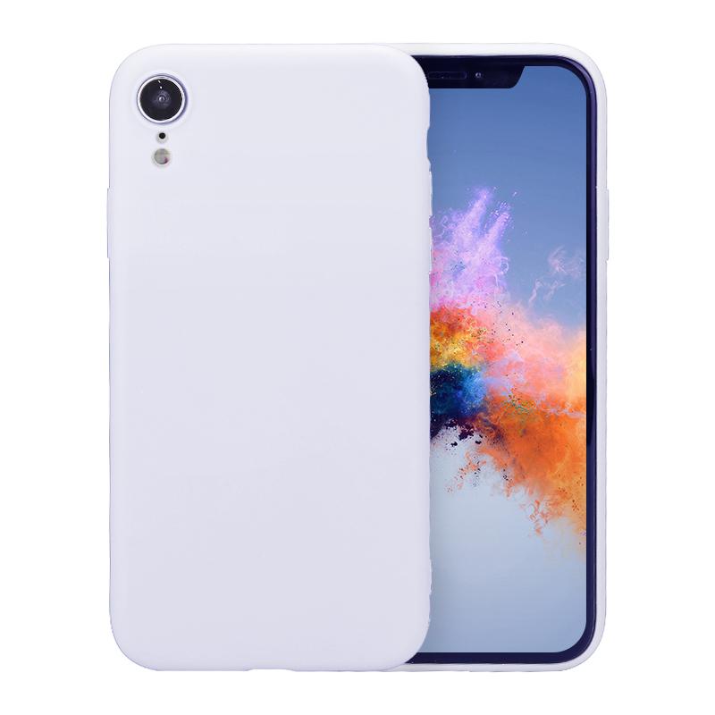 Ultra Thin Slim TPU Gel Skin Cover Shell Phone Case for iPhone XR - Purple
