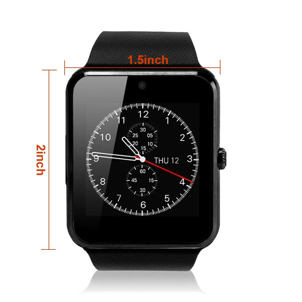 Touch Screen Smart Watch Bluetooth Voice Recording Camera Fitness Fit for iOS Android