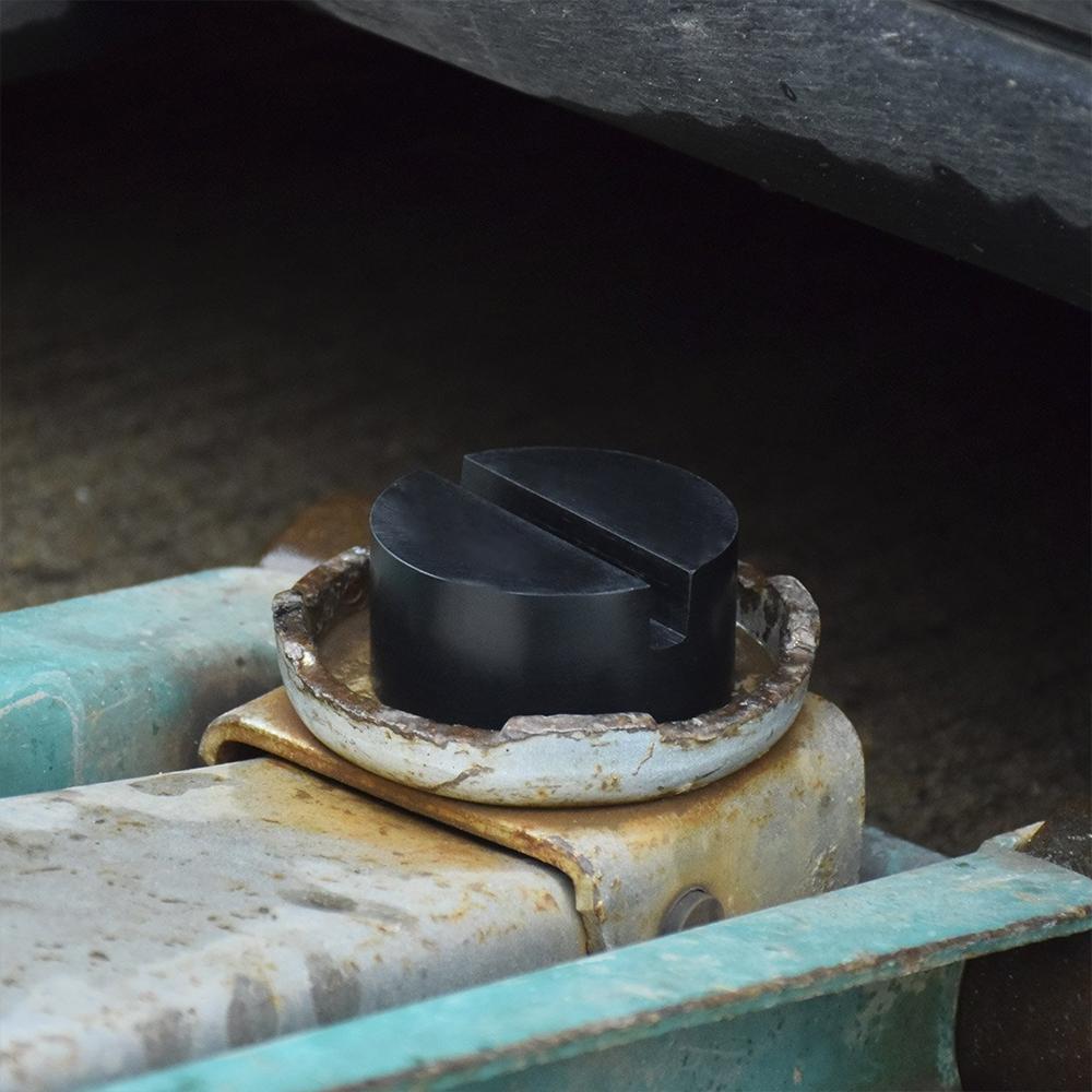 UK Classic Car Rubber Pad Slots Jack Hydraulic Ramp Jacking Adapter Tool Trolley