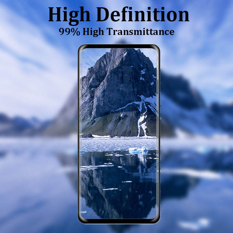Tempered Glass Screen Protector Screen Guard Steel Glass Film for Samsung Galaxy S10e - Black