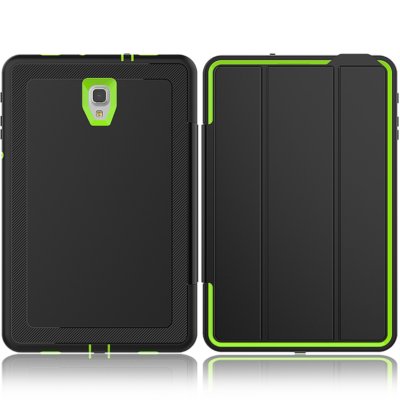 Smart Magnetic Auto Sleep Wake Protective Case Cover with Kickstand for Samsung Galaxy Tab A 10.5 - Green