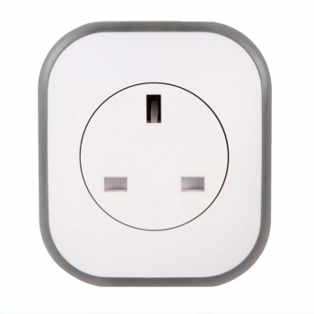 UK WiFi Smart Socket Remote Control Timer Outlet Power Plug with Night Light Function Support Phone App Alexa