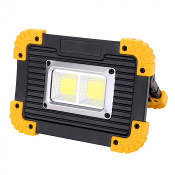 Waterproof COB LED Light Garden Car Fishing Work Night Rechargeable Lamp 20W
