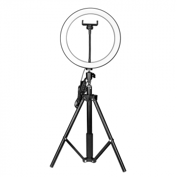10 inch LED Selfie Ring Light Studio Light with Stand Dimmable LED Lighting Kit for Makeup Youtube Video Live