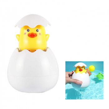 Watering Rainy Sprinkling Baby Children Playing Water Bathing Float Toys - Duck Egg
