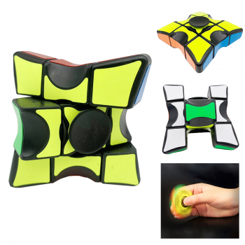 Children Fingertip Gyro Cube Finger Rubiks Cube Decompression Toy Entertainment Funny Cube