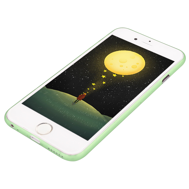 Newest PC Frosted Back Cover Ultra Thin Shell Case for iPhone 6 - Green