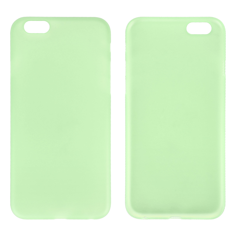 Newest PC Frosted Back Cover Ultra Thin Shell Case for 5.5 Inch iPhone 6 Plus- Green