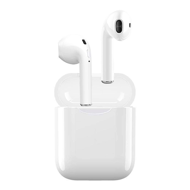 i11 TWS Bluetooth 5.0 Wireless Earphone Headphones In Ear Music Earbuds Mini Earpieces - White