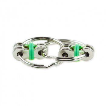 Fidget Hand Spinner Key Ring Chain for Stress Relieve ADHD - Green
