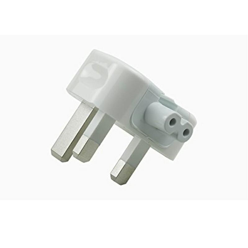 UK Travel Plug Duckhead Power Adapter for Apple MacBook Mac iBook iPhone iPod Replacement 3pin AC Power Adapter