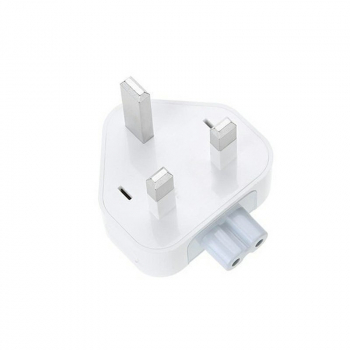 UK Travel Plug Duckhead Power Adapter for Apple MacBook Mac iBook iPhone iPod Replacement 3pin AC Power Adapter