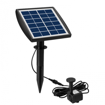 2W 200L/H Solar Water Pump Fountain for Garden Pool Pond Aquarium