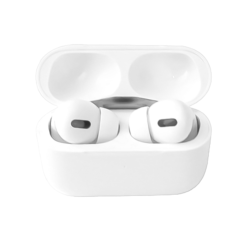 Macaron Air Pro Wireless Headphones Bluetooth 5.0 Touch Control In-ear Earphones - White