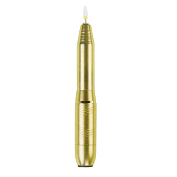 Electric Nail File Drill Portable Professional Manicure Pedicure Machine Set - Gold