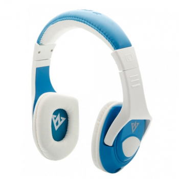 VYKON-MQ44 Headphone Headset With Microphone/ Control Unit - Blue