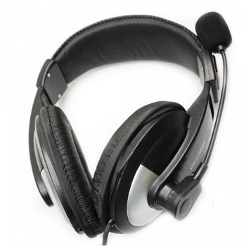 OV-L750MV Headset Headphone with Mic & Volume Control for PC & Laptop