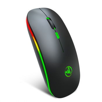 T18 Bluetooth 5.1 + 2.4 G Wireless 4-Keys 1600 DPI Adjustable Ergonomics Optical Vertical Mouse