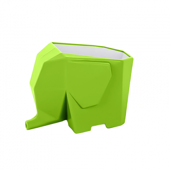 Cutlery Drainer Dryer Bathroom Kitchen Dish Elephant Rack Shape Holder Organizer - Green