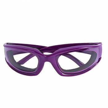 Onion Goggles Glasses Kitchen Cutting Chopping Mincing Eye Protect Glasses - Purple
