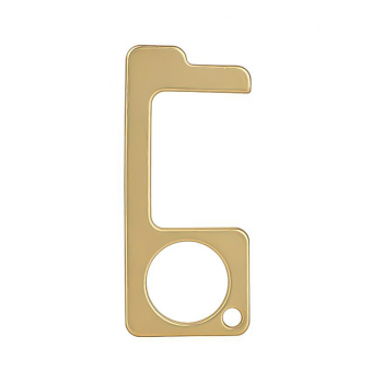 Portable Touch Free Copper Door Opener Handle Shopping Key EDC for Office Home