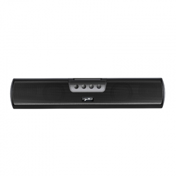 Q3 Long Strip Bluetooth 5.0 20W Portable Wall Mounted Desktop Stereo Loud Speaker