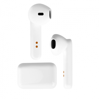 Q3 TWS on-ear Bluetooth 5.0 Wireless Headset Mini Earbuds Stereo Headphones - White
