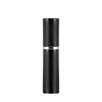 5ml Matt Portable Refillable Perfume Atomiser Atomizer Spray Bottle - Black