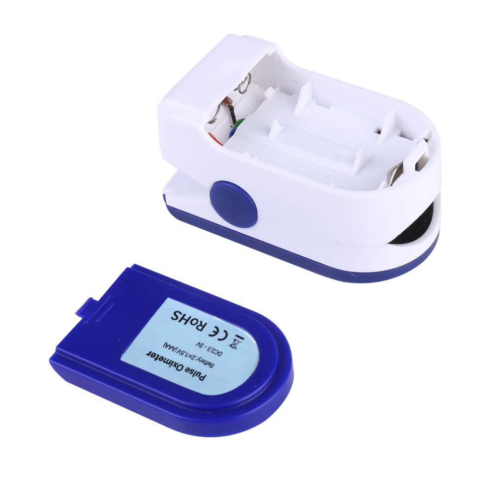 Four-color Display Fingertip Pulse Oximeter Oxygen Saturation Meter Blood Monitor Finger Oximeter with FDA Certificate