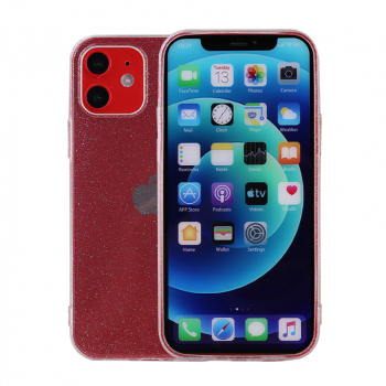 Soft and Slim Silicone TPU Case Protective Back Cover for iPhone 12/12 Pro - Transparent