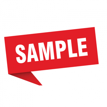 sample-001 Only for Sample Order