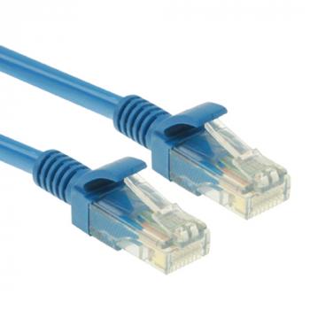 Cat5e Network Cable, 2 x RJ45 Plug, Length: 5m