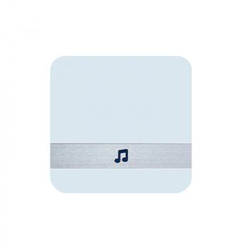 Smart Wireless Sensor Dingdong Doorbell Chime for Wireless Video Doorbell - White