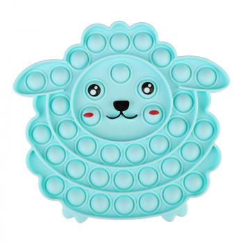 Pop it Fidget Game Among Us Anti Stress Products Sheep - Blue