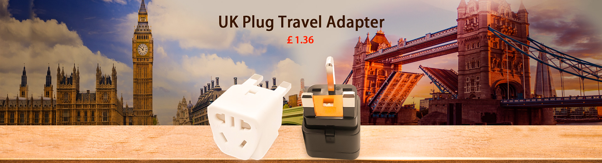 UK Plug Travel Adapter