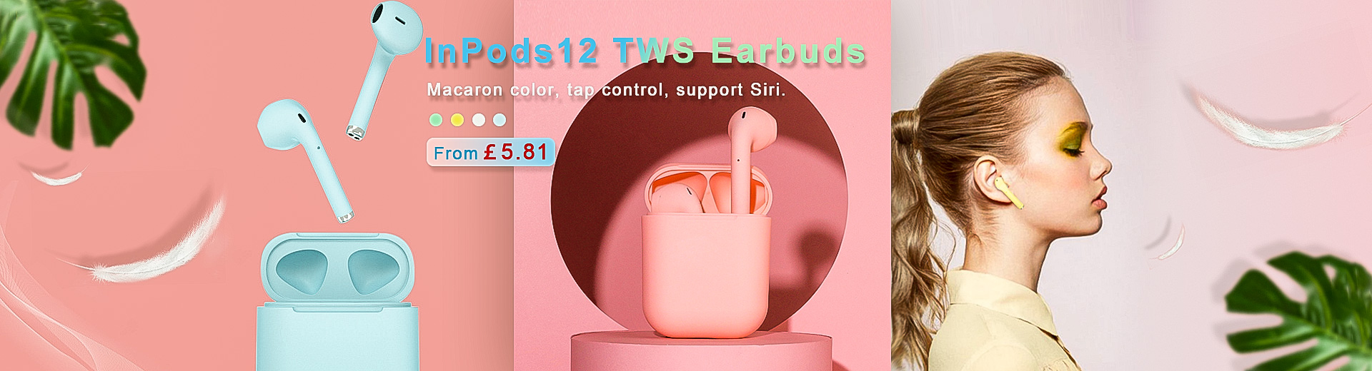 InPods12 TWS Earbuds