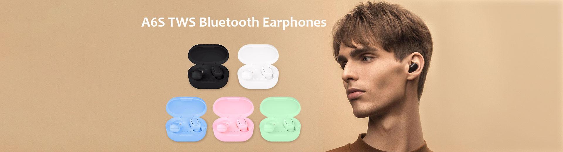 A6S TWS Bluetooth Earphones