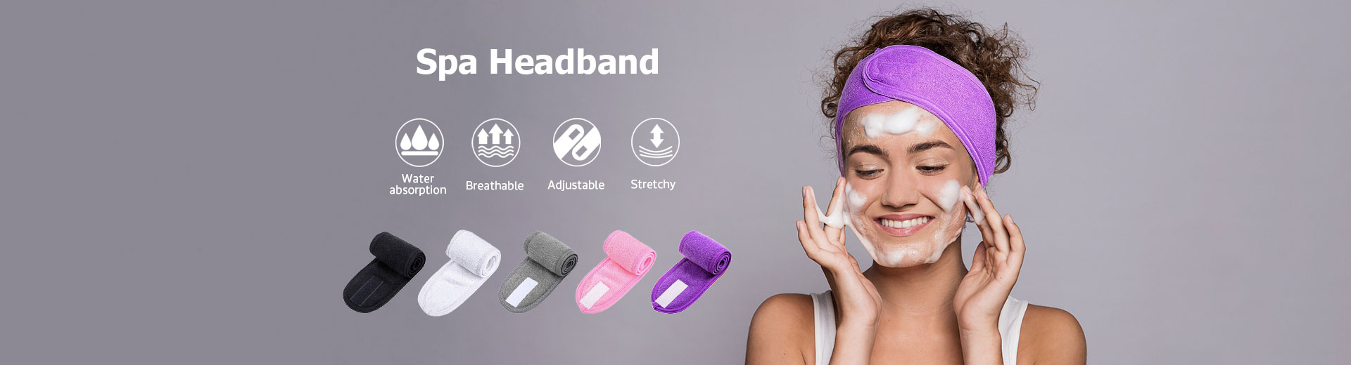 Spa Makeup Headband