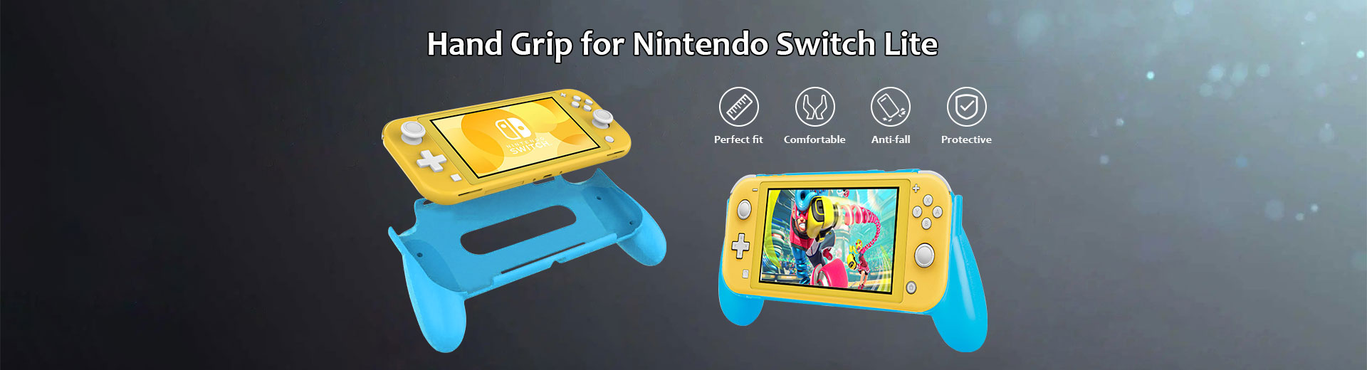 Hand Grip for Nintendo Switch Lite