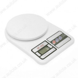 "1.7"" LCD Digital Kitchen Scale (10kg Max/1g Resolution)"