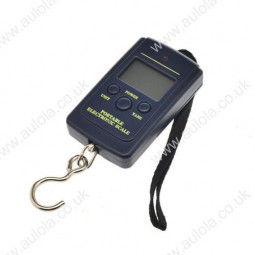 40kg x 10g Luggage Hanging Digital Pocket Scale with Low Power Alarm