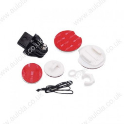 Surf Mounts Pack Tethers Surfboard Mounts for Gopro Hero 2/3/3+ Cameras
