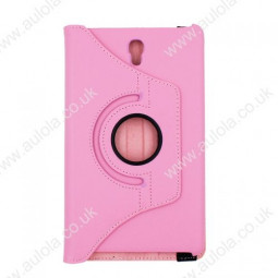 360 Rotation Case Cover for Samsung T700- Pink