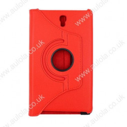 360 Rotation Case Cover for Samsung T700- Red